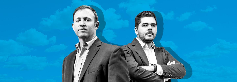 Adam Rasner of AutoNation and Jorge Ferrer of Paybox