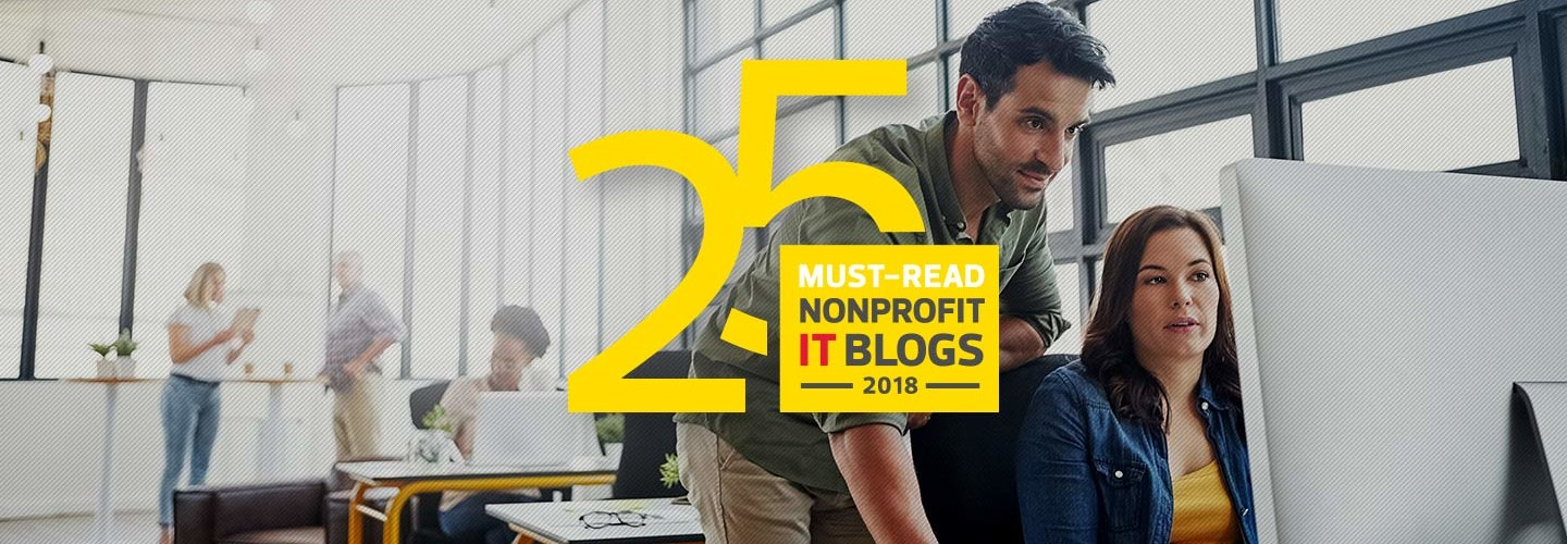 25 Must-Read Nonprofit IT Blogs 2018