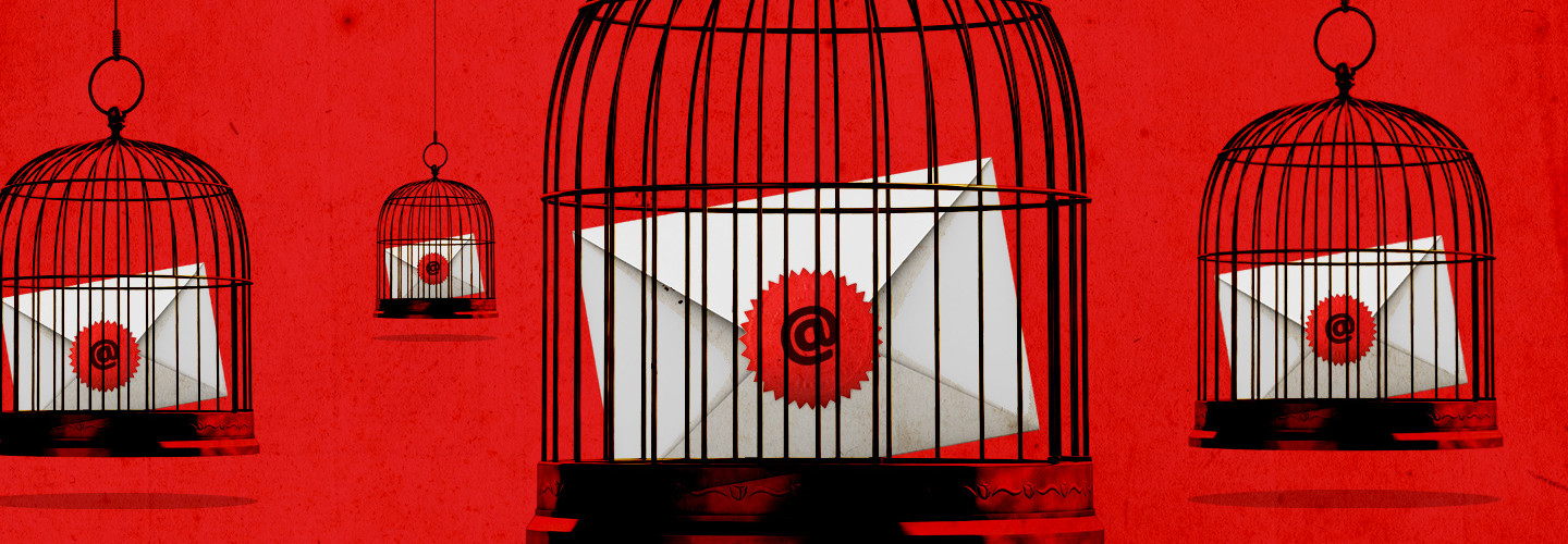 Email in a cage