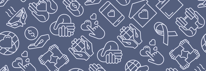 Nonprofit symbols illustration