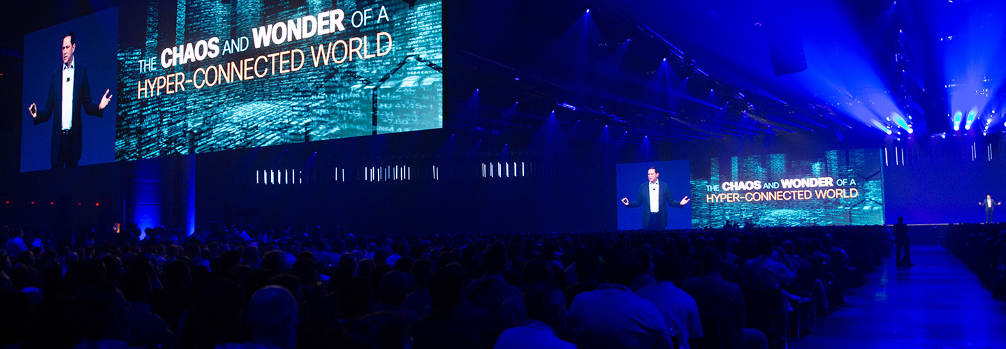 In a chaotic, hyperconnected world, Talos is blocking 20 billion threats daily, says Cisco CEO uck Robbins