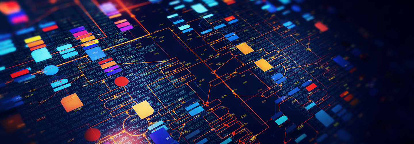 Data analytics abstract image