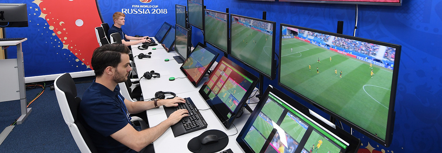 The video assistant referee system at the 2018 FIFA World Cup