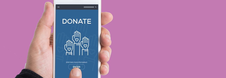 Nonprofit mobile donation