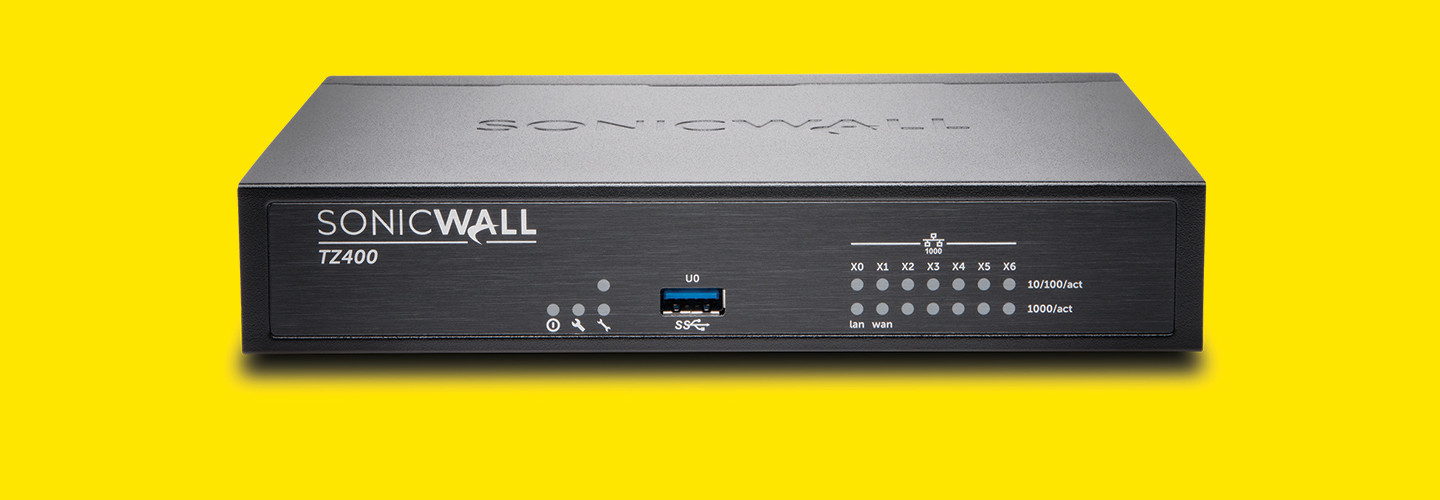 SonicWall TZ400 Wireless-AC Firewall