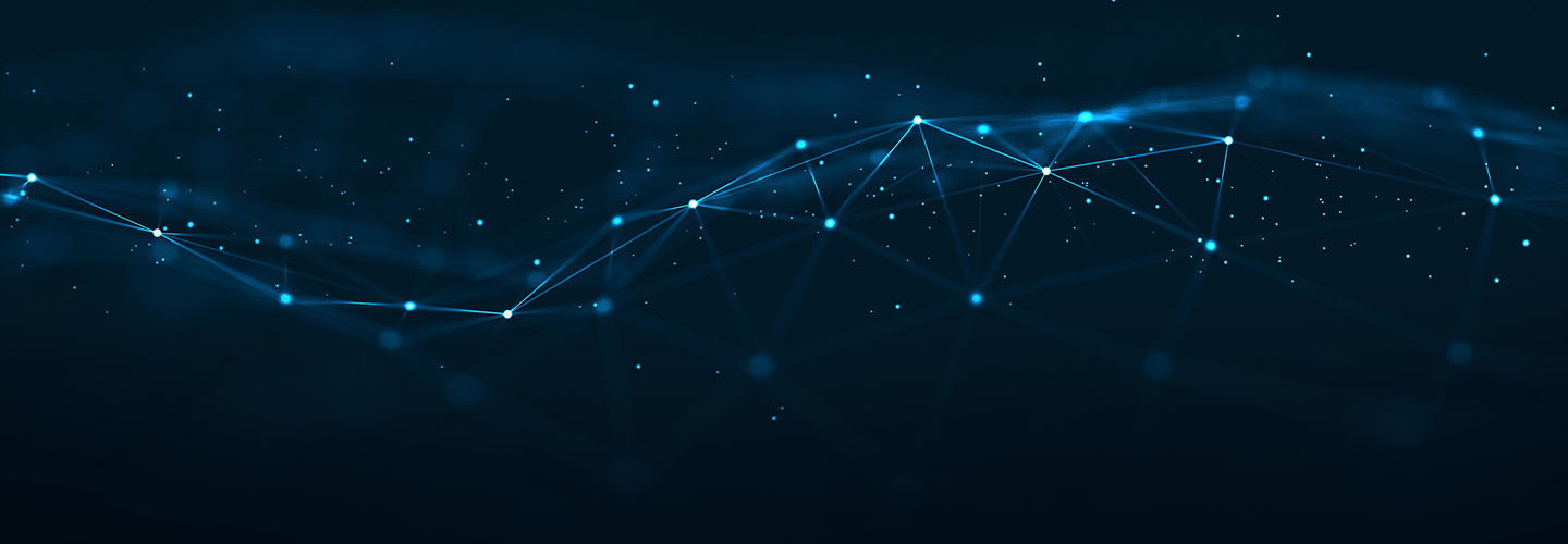 Technology Network Background.