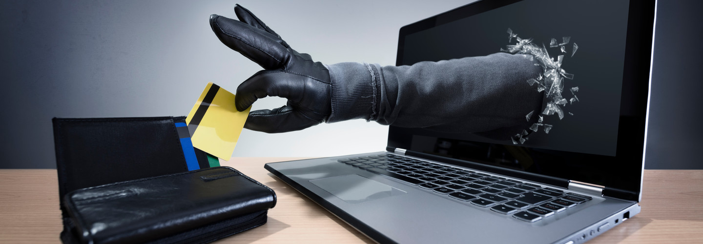 Hand stealing credit card