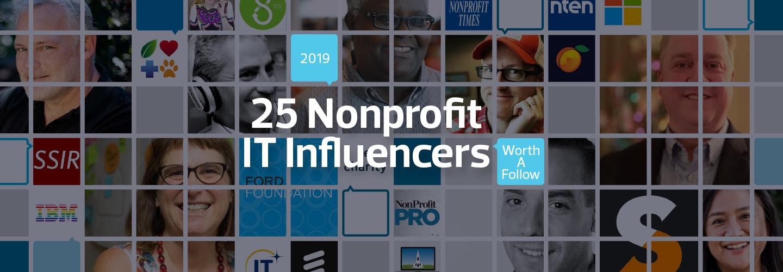 25 Nonprofit IT Influencers Worth a Follow 2019