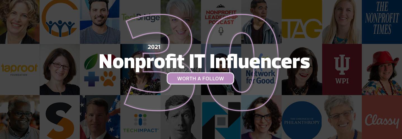 Nonprofit Tech Influencers