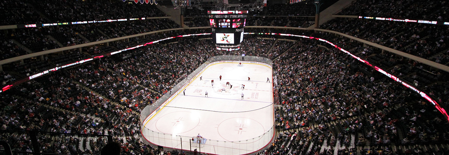 The Technology Controlling the Scoreboards Throughout the Minnesota Wild's Arena