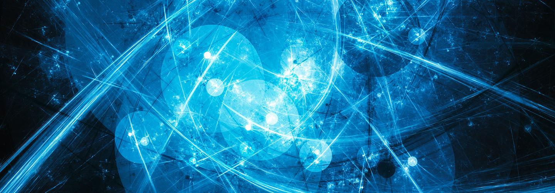 Quantum computing conceptual image