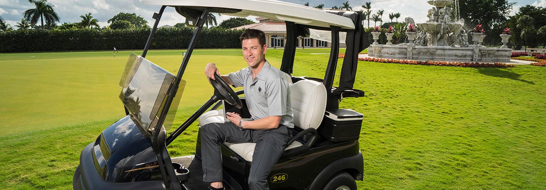 Golf Courses Use Wi-Fi