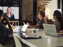 Video conferencing in a small business