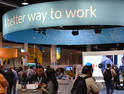 The conference show floor at the Citrix Synergy 2018 conference