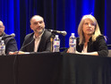 Paul Kay, senior VP and global CISO at EchoStar; Michael Coates, CEO of Altitude Networks; Richard Mason, president and CSO of Critical Infrastructure; and Nancy Phillips, CISO of Centura Health