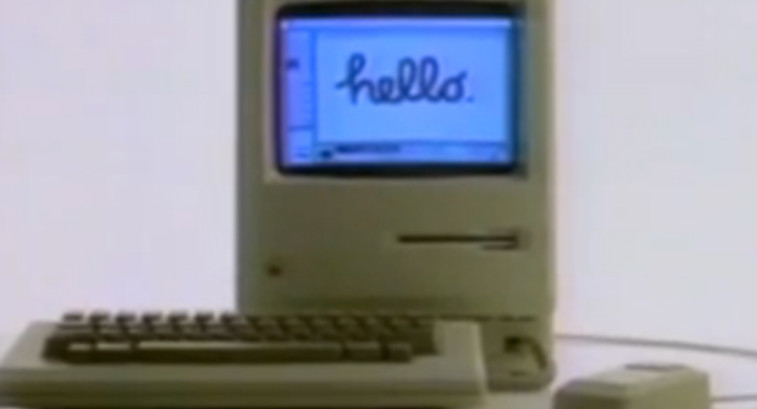 Straight from 1984: It's the First Public Demo of the Mac