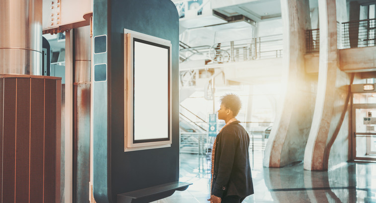 Modern bank branches deploy digital signage and video to fuse the in-person and mobile banking experiences.