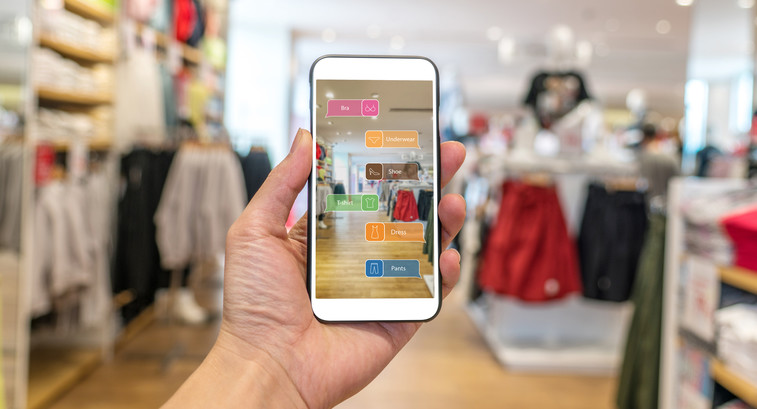 The handheld tools can also help brick-and-mortar stores collect valuable customer data.