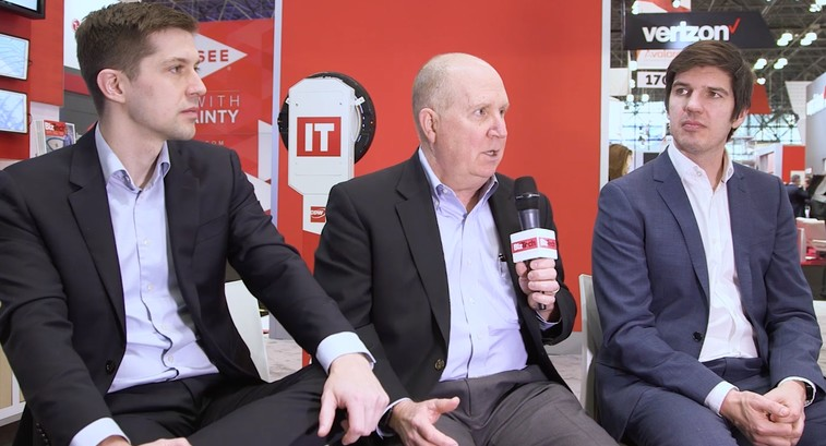 CDW's John Chancellor, Link Simpson and Adrian Woodrup