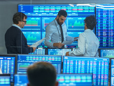 Stock traders at a capital markets firm