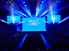VMworld 2018 keynote on Aug. 27, 2018