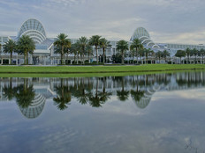 The Orange County Convention Center in Florida
