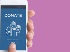 Nonprofit mobile donation