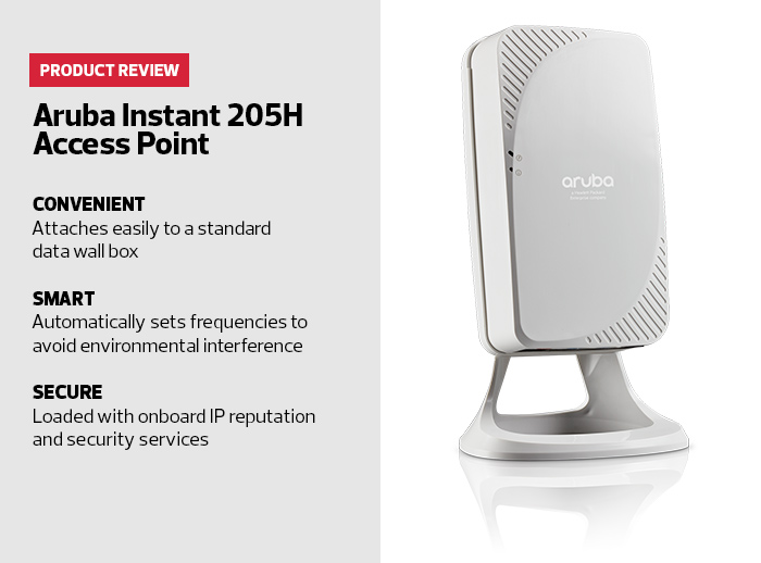 Review: Aruba's Instant 205H AP Delivers Secure and Fast Public