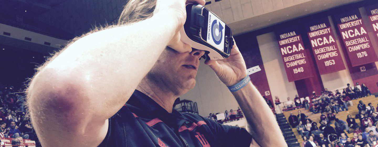 Indiana University virtual reality basketball