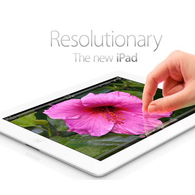 Apple Unveils 4G-capable New iPad