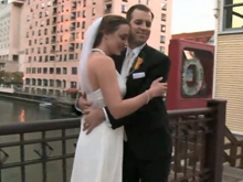 George Street wedding photo