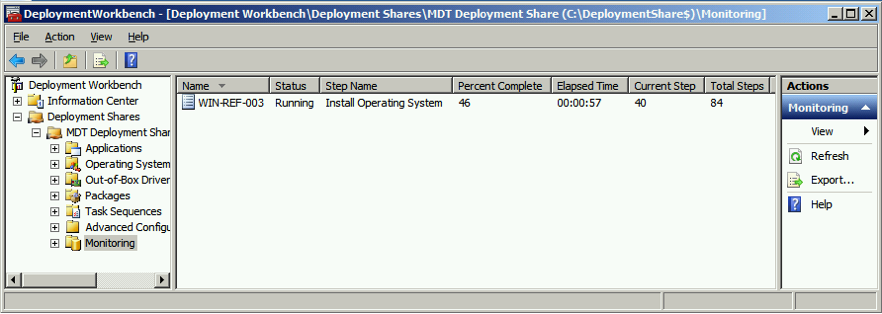 Microsoft Toolkit 2012 monitoring mode