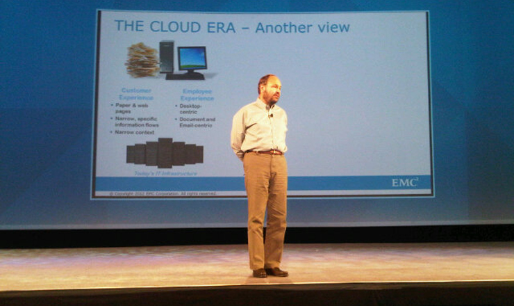 Paul Maritz, VMWare CEO at EMC World 2012