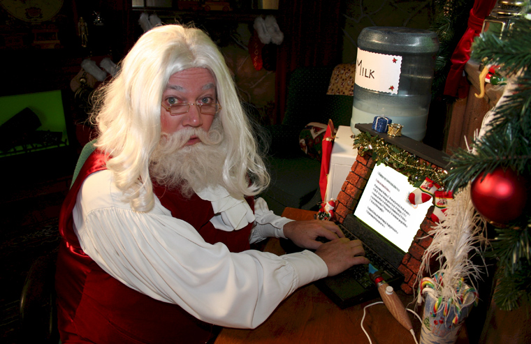 babbo natale computer