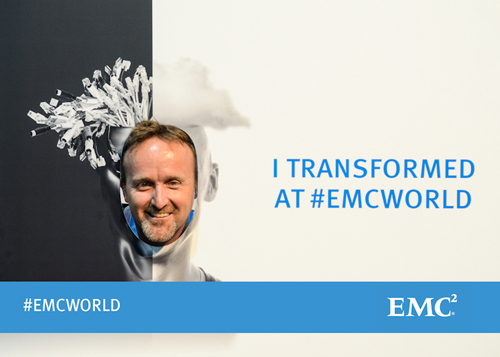 I Transformed at EMC World
