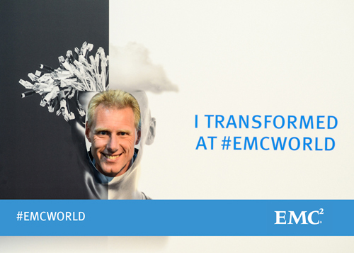 I Transformed at EMC World Vogon