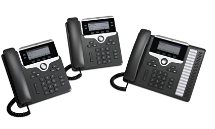 New Cisco IP Phones