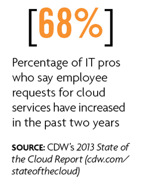 IT pros adopting cloud services