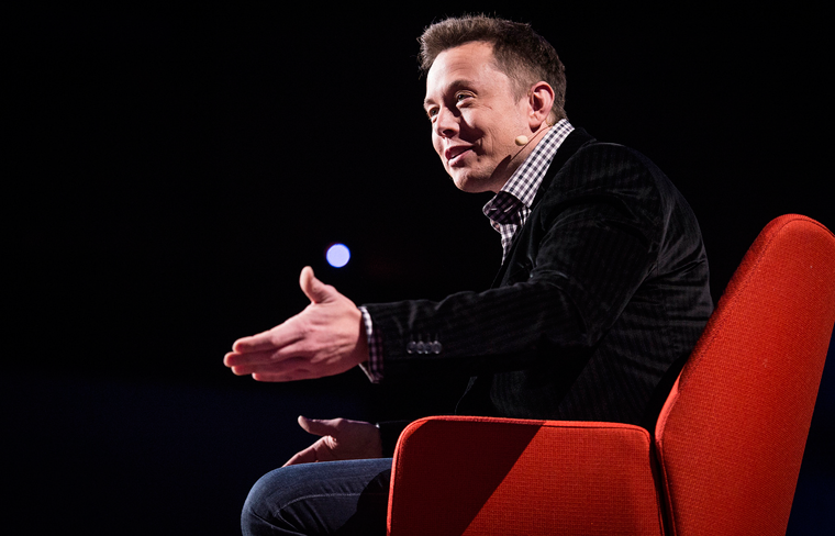 Elon Musk speaks at TED 2013