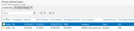 IP Address Management Windows Server 2012