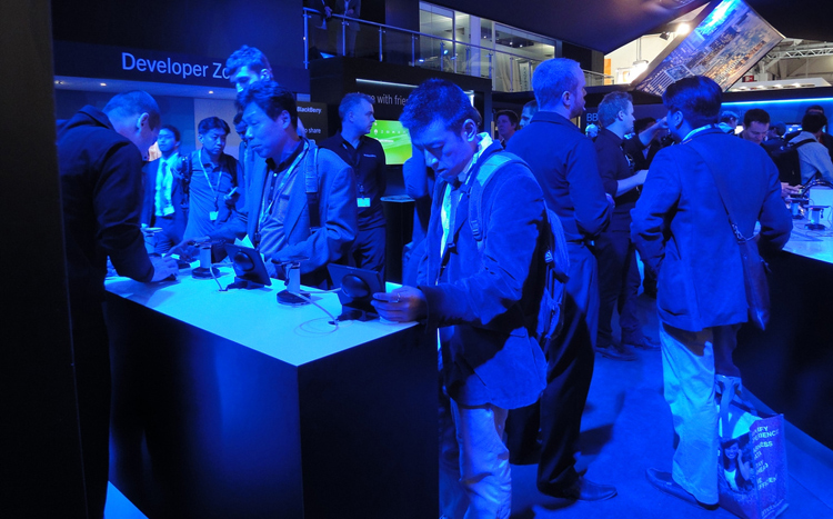 Blackberry at Mobile World Congress
